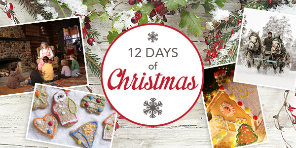 12 Days of Christmas at Grand View Lodge