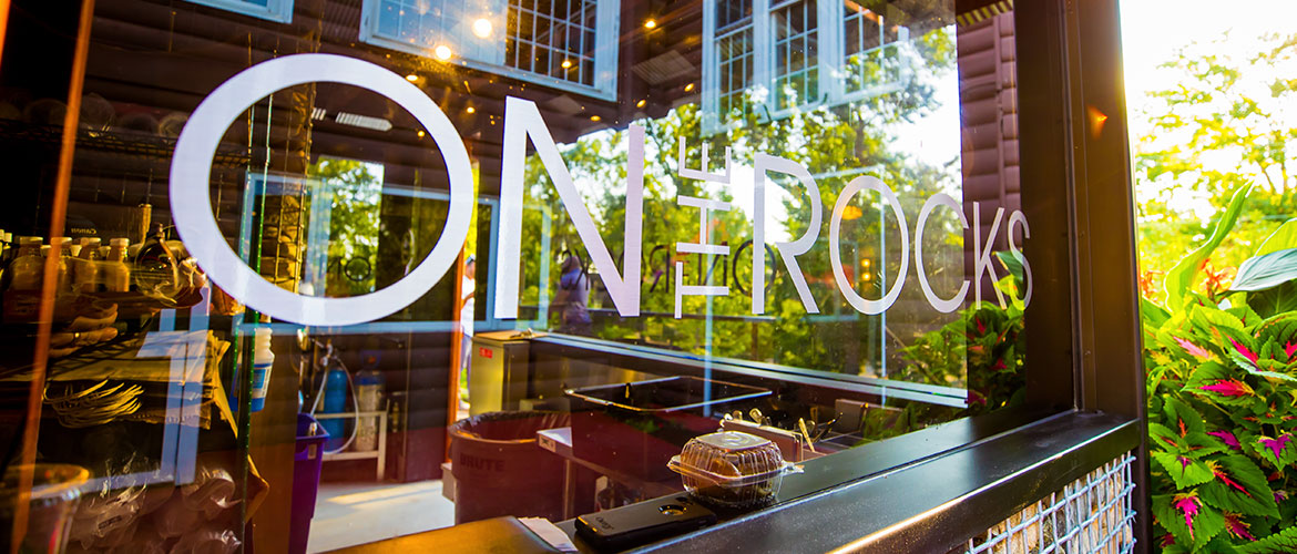 On The Rocks: Our NEW Outdoor Dining Venue with a View