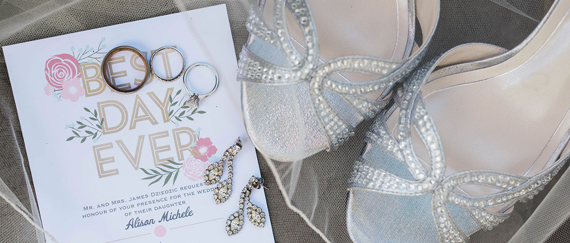 Wedding Shoes and Invite